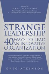 PhotoIllustration of the book Strange Leadership